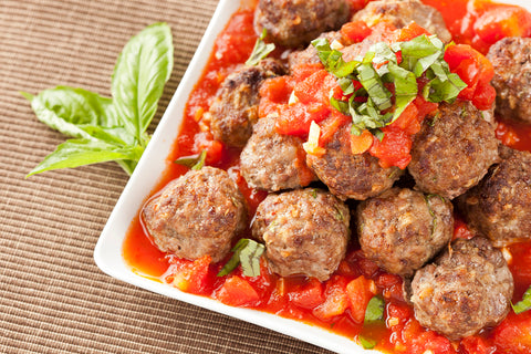 Low FODMAP turkey meatballs