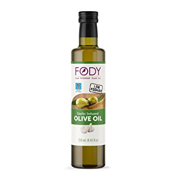 Fody Foods Garlic Infused Olive Oil 8.45 OZ