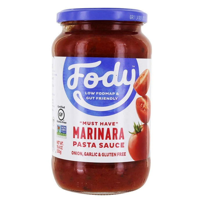 Low FODMAP Marinara Pasta Sauce Onion, Garlic & Gluten Free