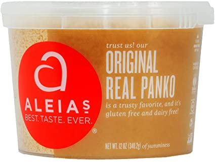 Aleia's Gluten Free Real Panko Original 12 oz, Pack of 1