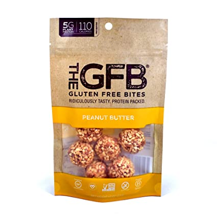 The GFB Gluten Free, Non GMO High Protein Bites, Peanut Butter, 4 Ounce