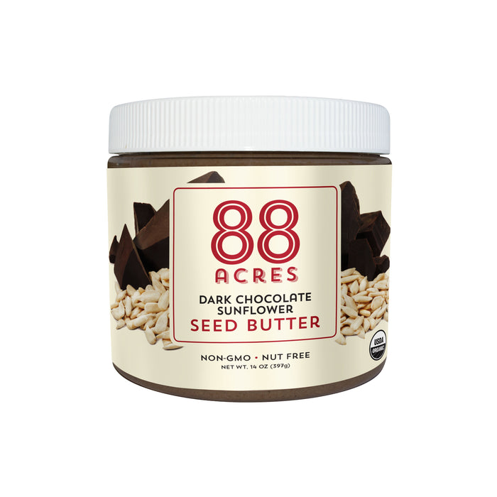 88 Acres Dark Chocolate Sunflower Seed Butter- 14oz