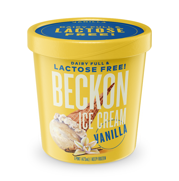 Beckon's Vanilla Ice Cream