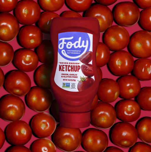 Low FODMAP Ketchup Onion, Garlic & Gluten Free