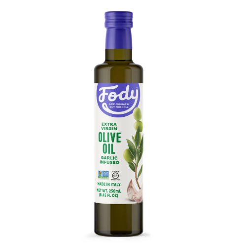 Low FODMAP Garlic Infused Olive Oil Extra-Virgin, Non-GMO, Made in Italy