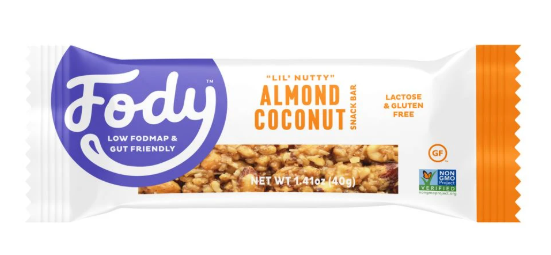 Low FODMAP Almond Coconut Bars (Box of 12) Lactose & Gluten Free