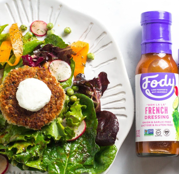 Low FODMAP French Salad Dressing Onion, Garlic, Lactose & Gluten Free