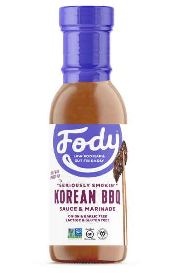 Low FODMAP Korean BBQ Sauce & Marinade Garlic, Onion, Lactose & Gluten Free