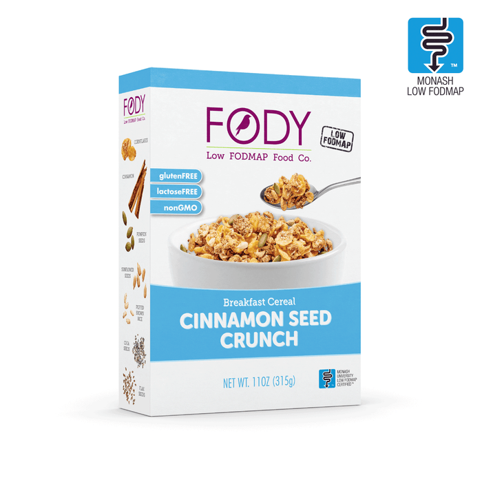 FODY Cinnamon Seed Crunch Breakfast Cereal