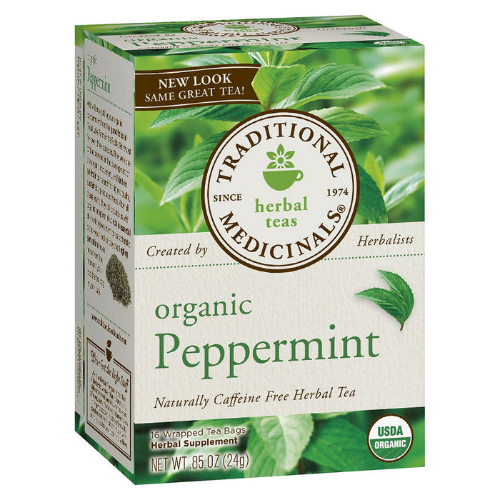 Traditional Medicinals Organic Peppermint Tea