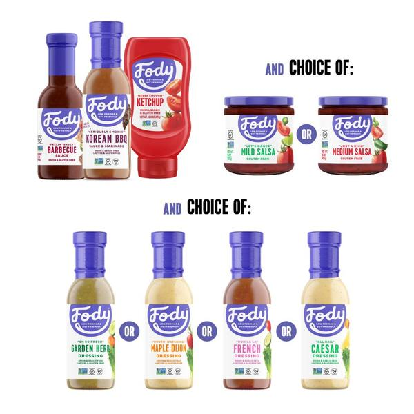 FODMAP Friendly Sauces Grill 'n Chill Low FODMAP BBQ Sauce Bundle (Build Your Own!) Bundle & Save