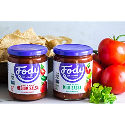 Low FODMAP Mild Salsa 6-Pack Gluten Free