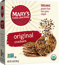 Mary's Gone Crackers-Original flavor 6.5oz