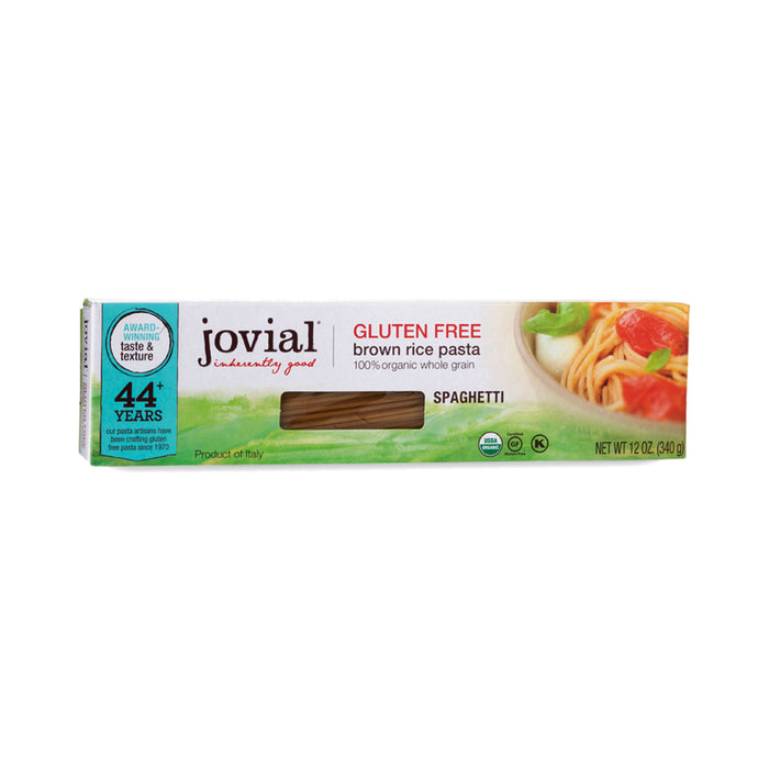 Jovial Organic Brown Rice Spaghetti- 12oz box