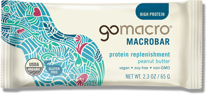 GoMacro Organic Peanut Butter Protein Replenishment Bar - 2.3oz