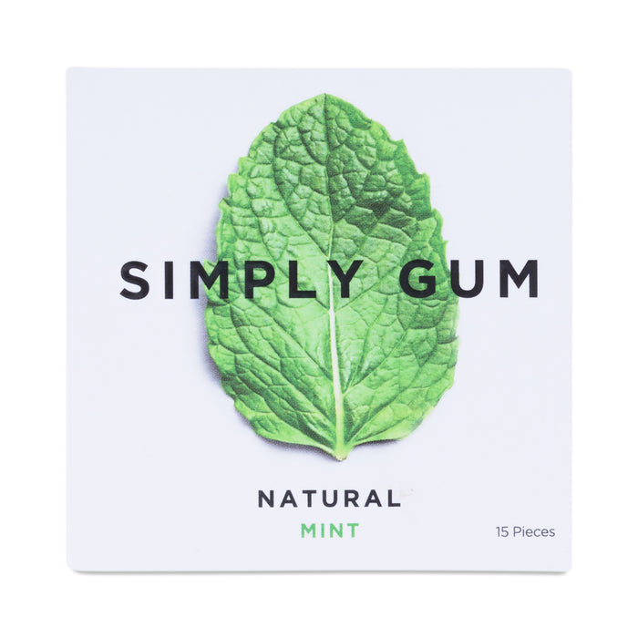 Simply Gum- Natural Mint