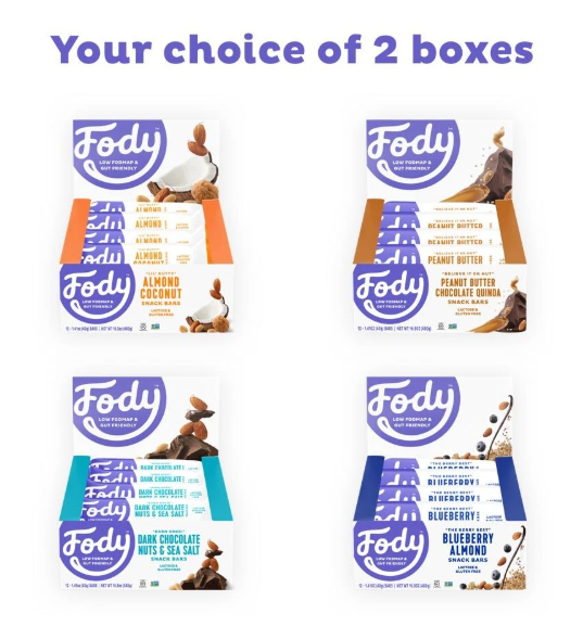 Low FODMAP Snack Bars Build Your Own Snack Pack! Lactose & Gluten Free Bundle & Save