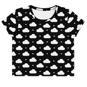 clouds all over | crop top | w
