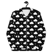 clouds all over | bomber jacket | u
