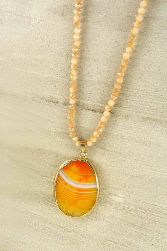 Totally Topaz Necklace