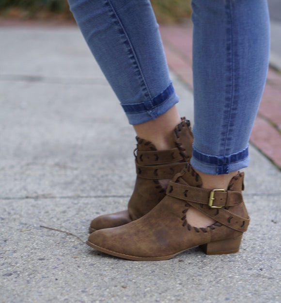 Buckle Down Booties