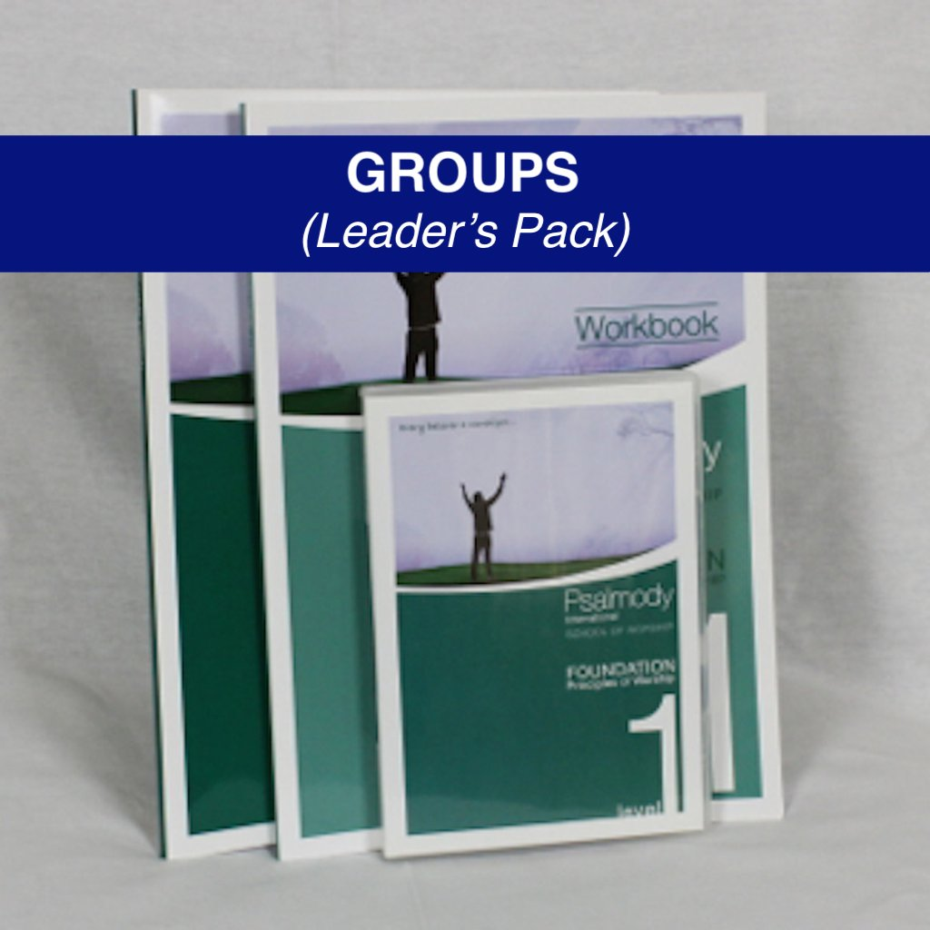 SCHOOL OF WORSHIP LEVEL ONE - GROUP LEADER'S PACK (digital download)