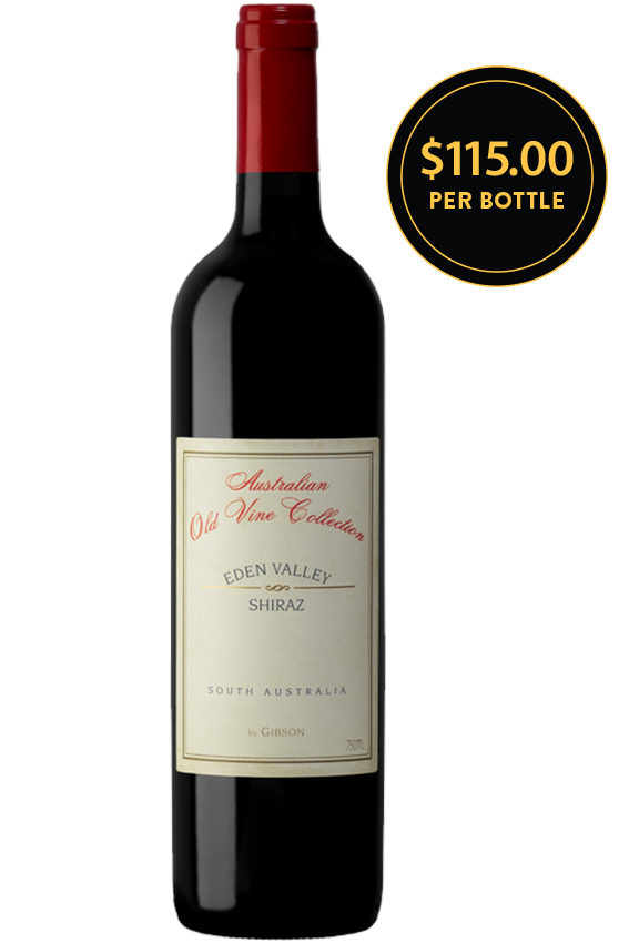 Gibson Wines Australian Old Vine Collection Eden Valley Shiraz 2012