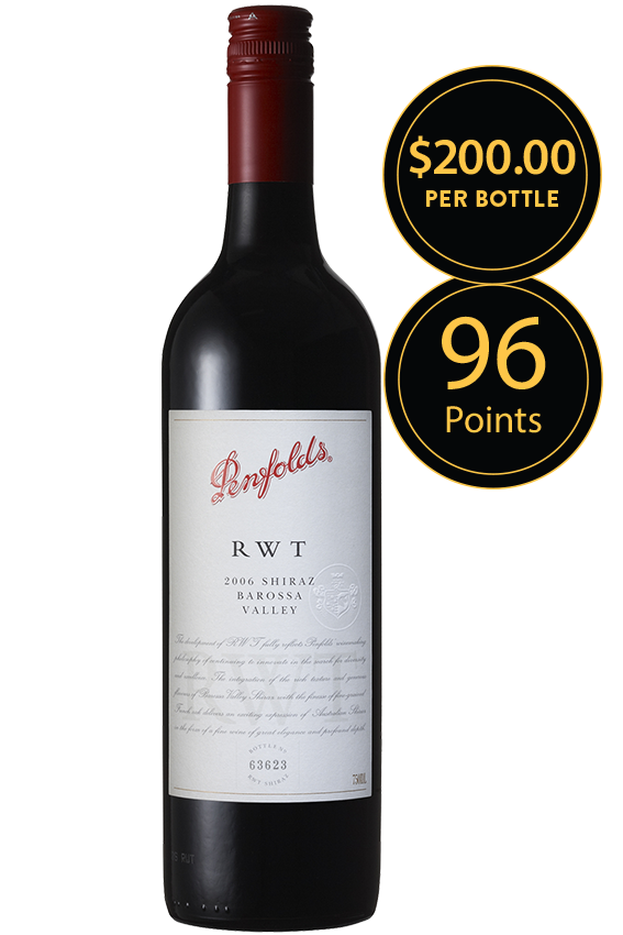 Penfolds RWT Barossa Valley Shiraz 2006