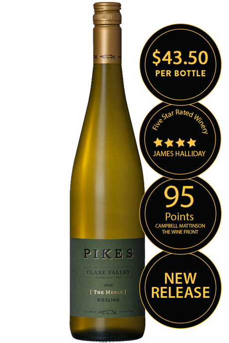 Pikes 'The Merle' Reserve Riesling 2017