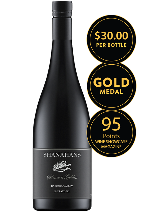 Shanahans Silence Is Golden Barossa Valley Shiraz 2015