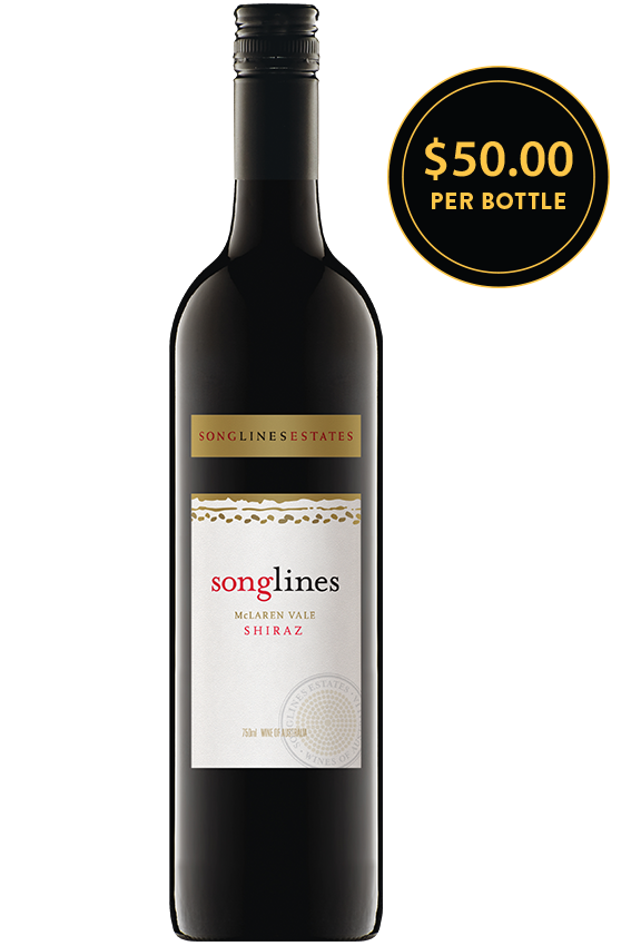 Songlines Estates Mclaren Vale Shiraz 2010
