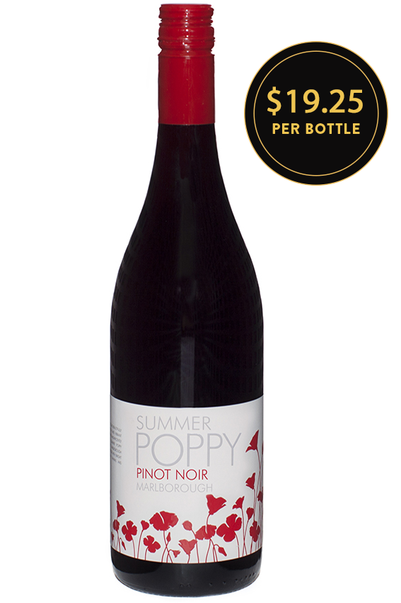 Summer Poppy Pinot Noir 2016