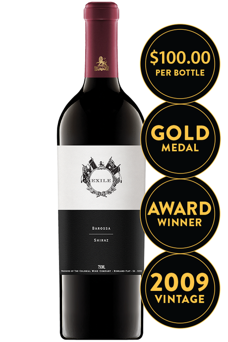 The Colonial Estate Exile Barossa Valley Shiraz 2009