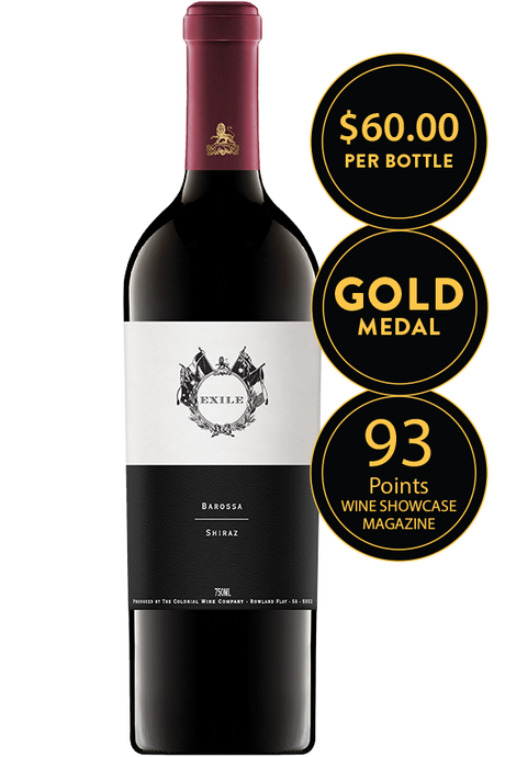 The Colonial Estate Exile Barossa Valley Shiraz 2016