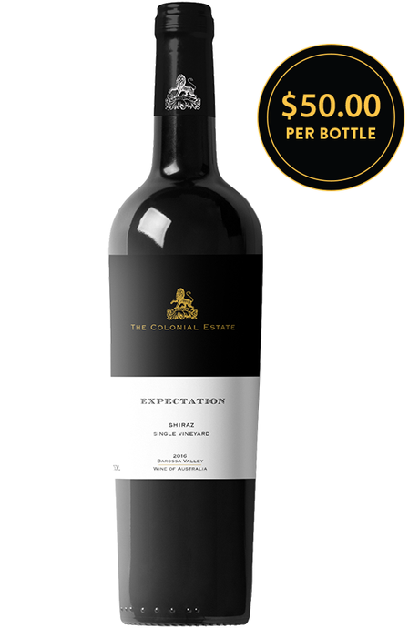 The Colonial Estate Expectation Barossa Valley Shiraz 2016