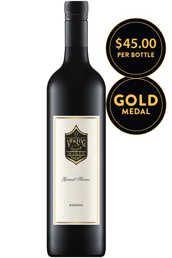 Viking Grand Barossa Valley Shiraz 2015