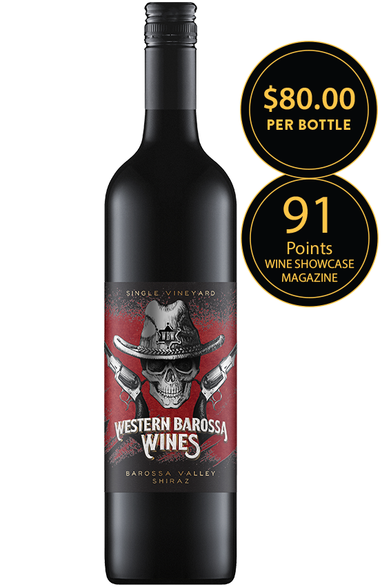 Western Barossa Wines Barossa Valley Shiraz 2016