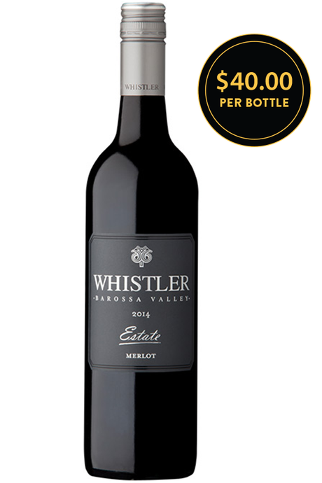 Whistler Wines Estate Barossa Valley Merlot 2014