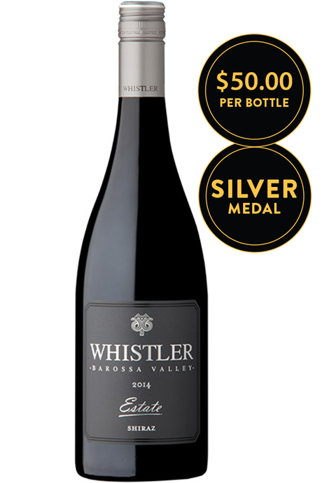 Whistler Wines Estate Barossa Valley Shiraz 2014