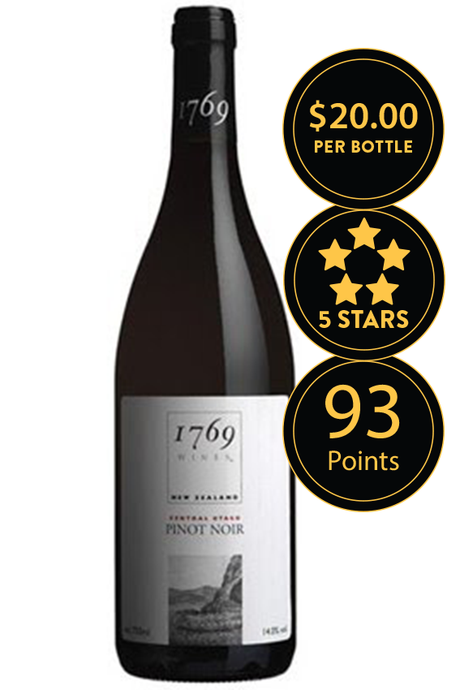 Wild Earth 1769 Central Otago Pinot Noir 2010