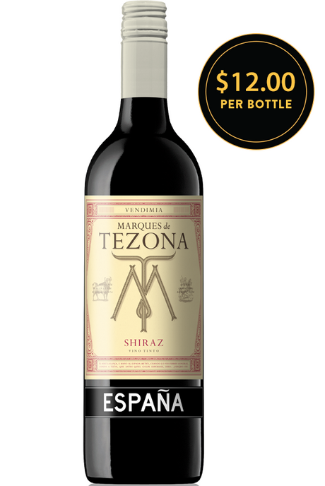 Marques de Tezona Shiraz 2014