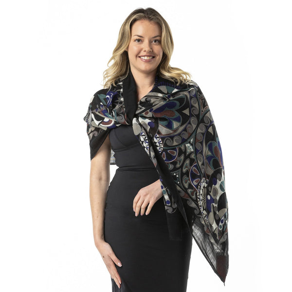Information Technology Pure Merino Shawl - Opal Merino