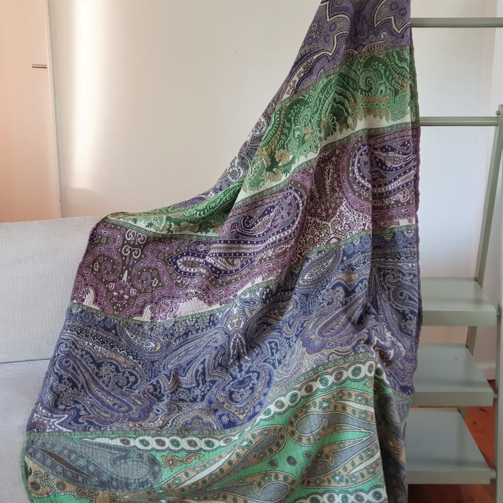 Merino Wool Blankets & Throws Panels - Opal Merino