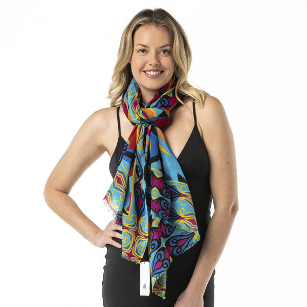 Welcome to Sydney Merino Wool Shawl. - Opal Merino