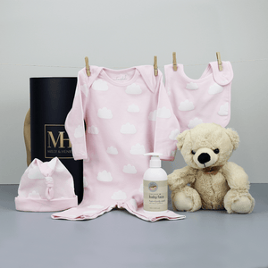 Cloud Baby Girl Hamper
