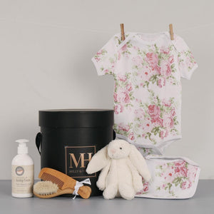 Pretty in Pink Baby Girl Hamper