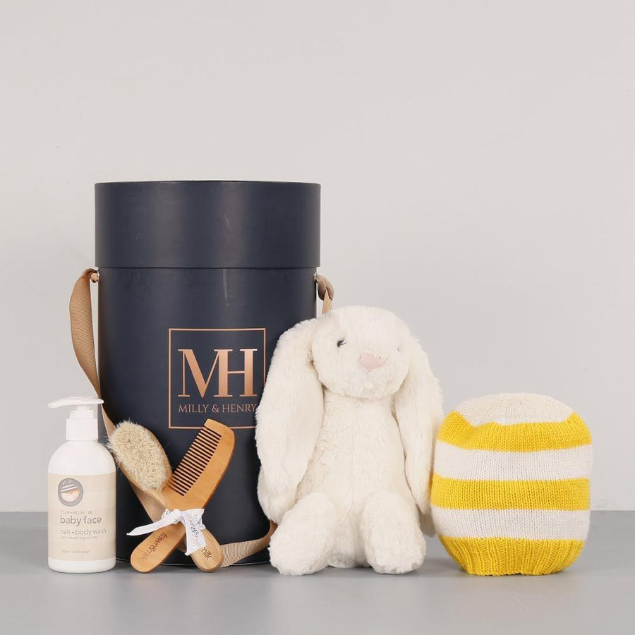 Cute Yellow Unisex Hamper