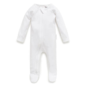 Purebaby White Growsuit