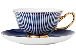 Parisienne Navy Cup & Saucer Set