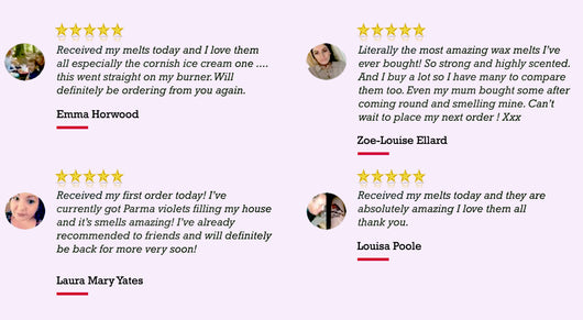 wax melts reviews